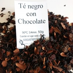 Té negro al chocolate