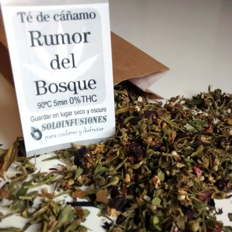 Té cannabico Rumor del Bosque