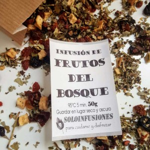 Infusión de Frutos del Bosque